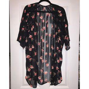 Floral Kimono NWOT